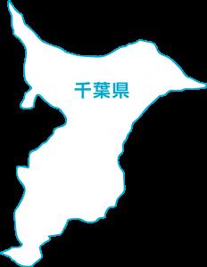 白地図: 千葉県